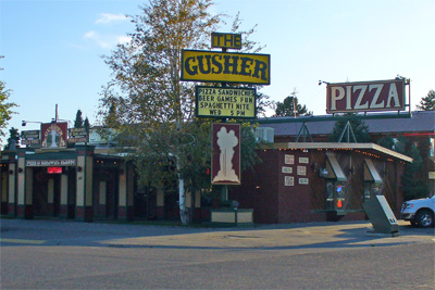 The Gusher, West Yellowstone