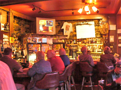 Silver Saddle Saloon at Irma Hotel, Cody